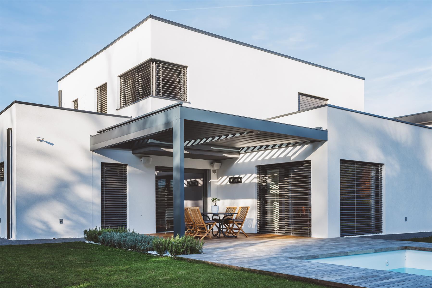 populäres Design limitierte Anzahl billig für Rabatt Außenraffstores in der konventionellen Standardmontage ...
